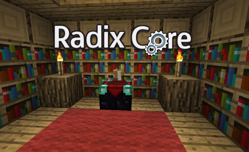 как установить мод на radixcore 2.02 для майнкрафт 1.7.10 #3