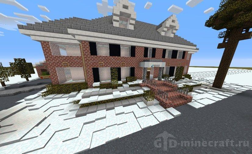Карты с домами для майнкрафт 1.12.2