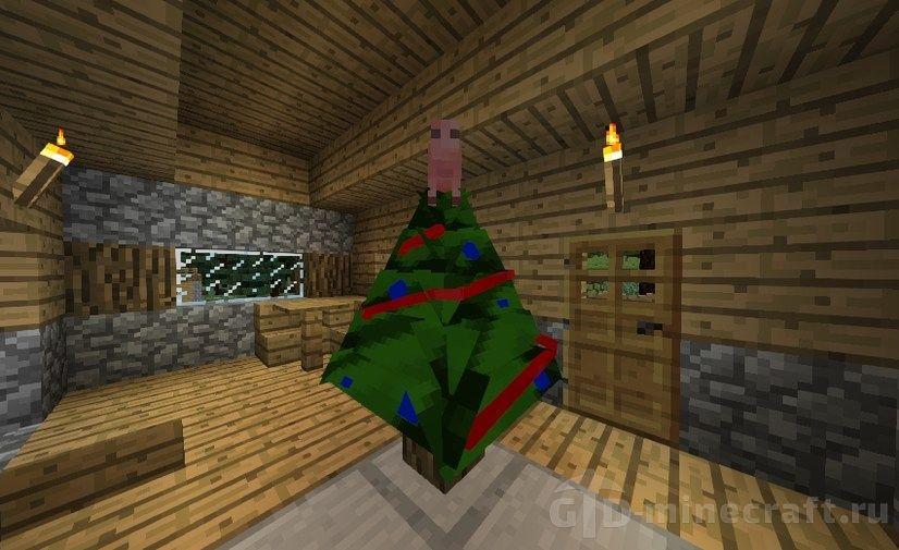 Мод Decoratable Christmas Trees позволит тебе установить ёлку в Майнкрафте  и украсить её на свое усмотрение. Он гарантированно подарит веселое  настроение ... 7168aaf5ad9