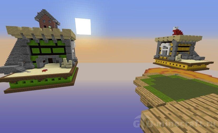 Скачать карту Hypixel Bedwars для Майнкрафт 1 12 2 бесплатно