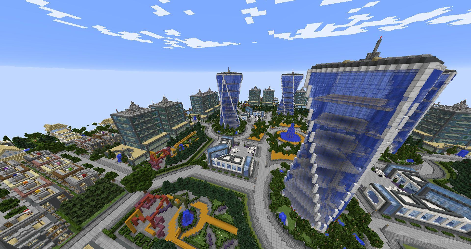 Майнкрафт карта город играть онлайн как играть в дурака на картах видеоурок