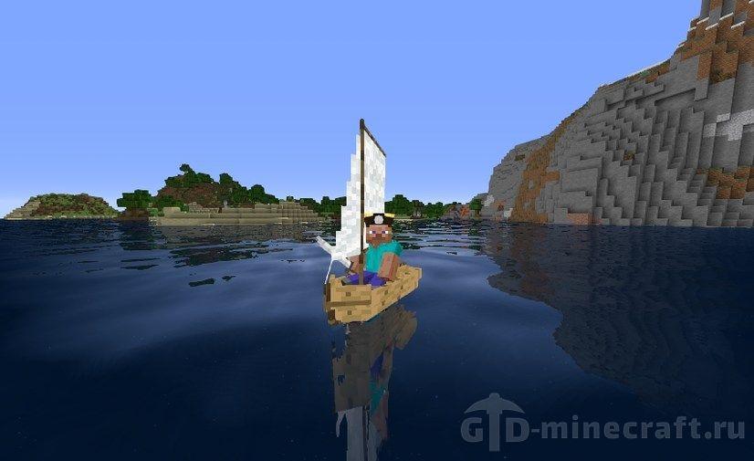 майнкрафт 1.10 с модами пиратские приключения #10